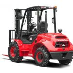 2.5-3.5t 2WD or 4WD Wheel Drive Rough Terrain Forklift Truck