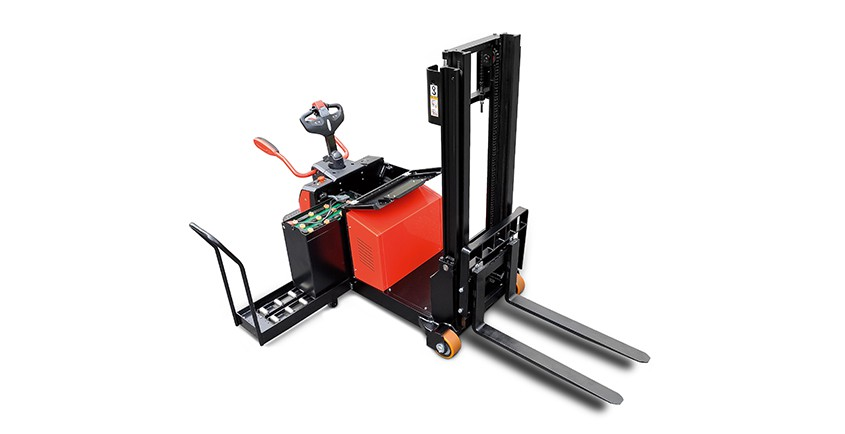 A series electric counterbalanced stacker 1.2t-1.6t